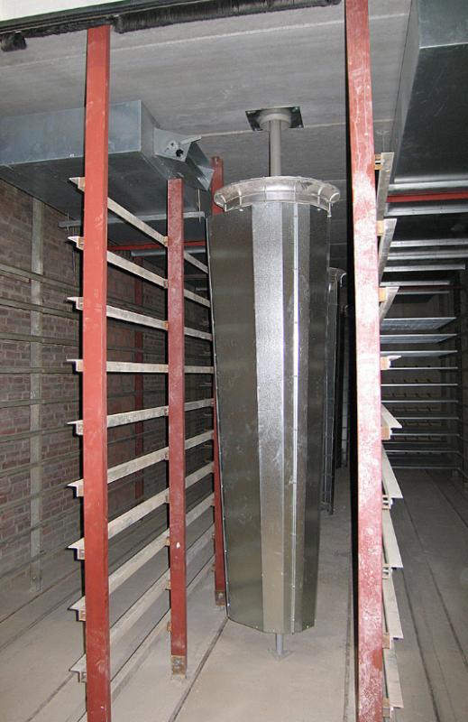 Вентилятор сушки кирпича ротальсер, ротомиксер