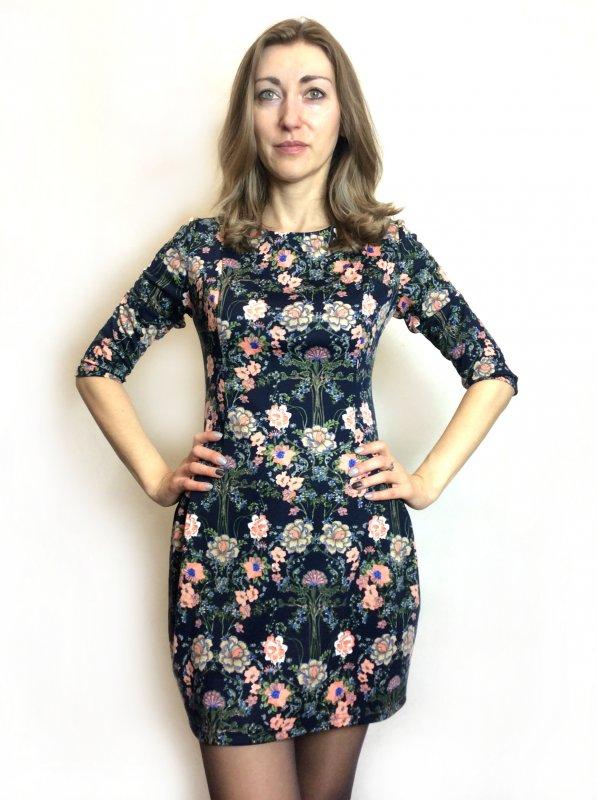 Платье-туника из французского трикотажа П168
