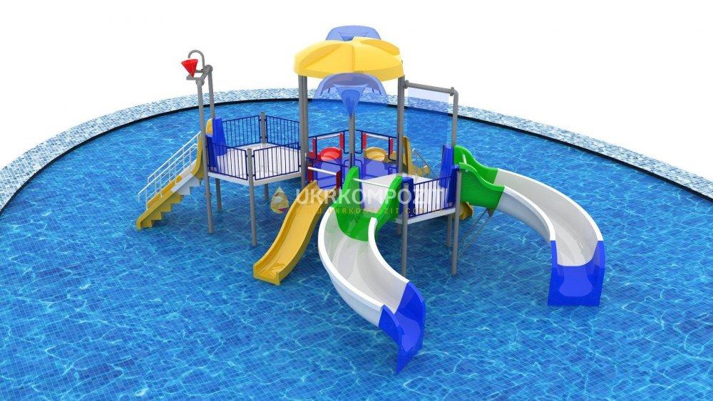 Buy Children's waterslide of Ukrkompozit Akvabashnya
