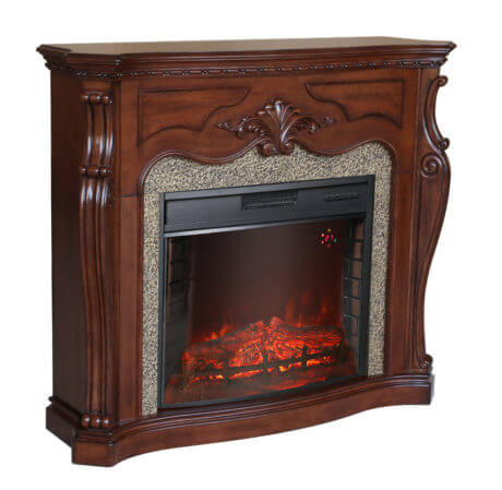 Buy Electric fireplace of Florida (nut) from fenny EL1347