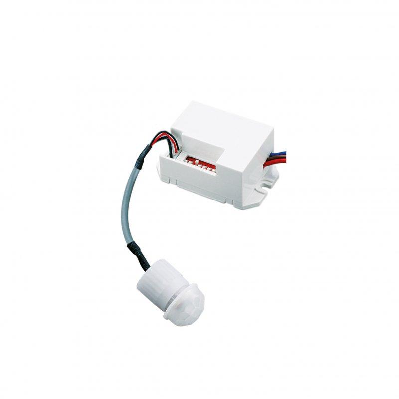 Настенный датчик движения Euroelectric Универсальный 100х360`, макс.8 м, IP44