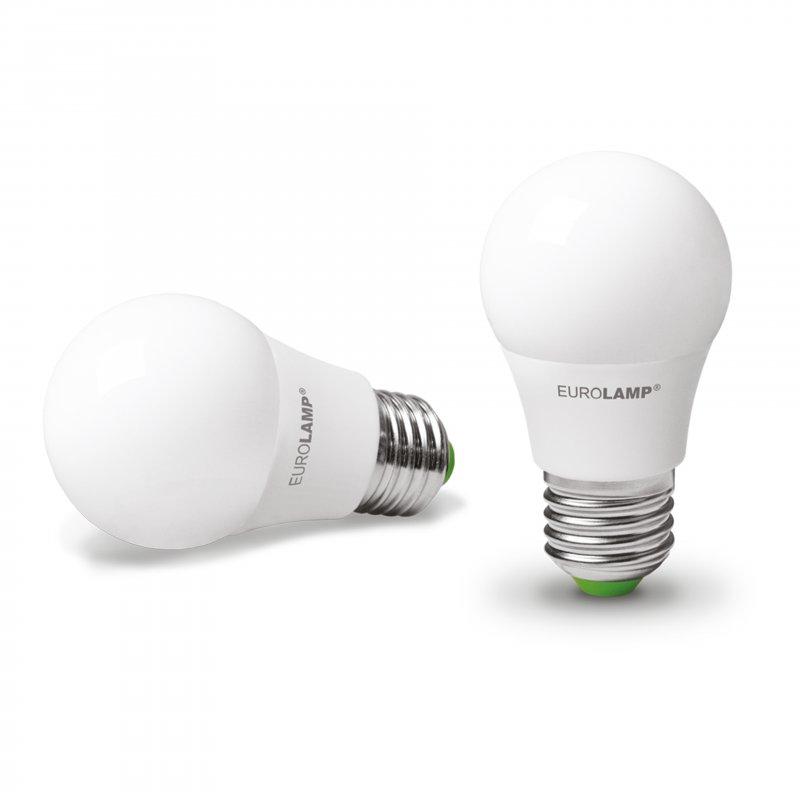 Классическая светодиодная Eurolamp LED Лампа Еко А50 7W E27 4000K