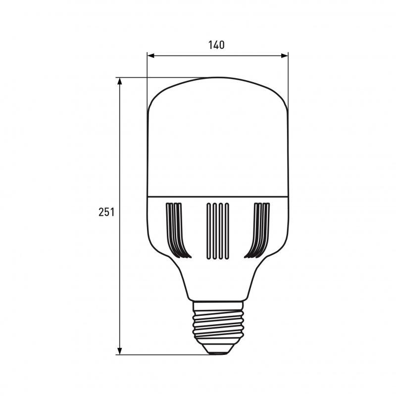 Светодиодная Eurolamp LED Лампа высокомощная 70W E40 6500K