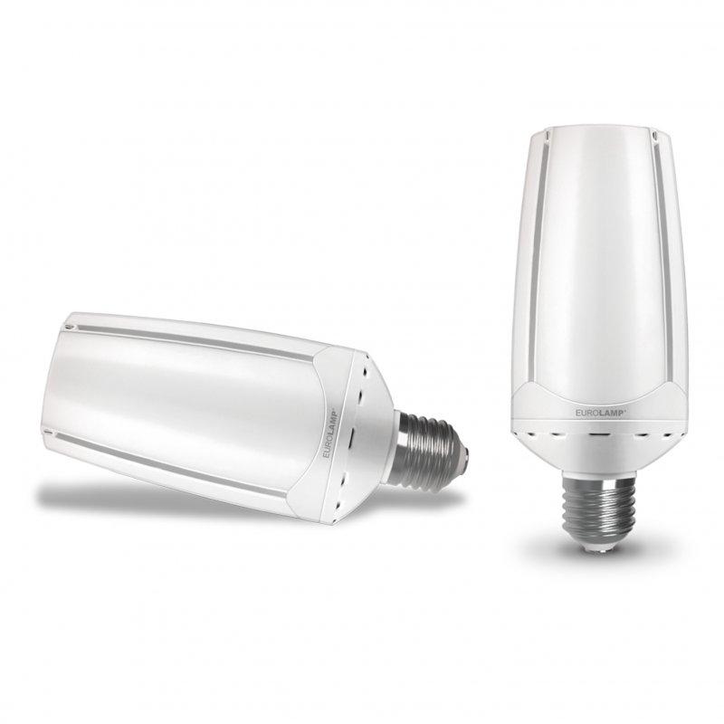 Светодиодная Eurolamp LED Лампа высокомощная Rocket 55W E40 6500K