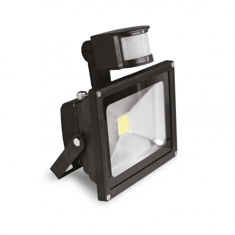 Светодиодный Euroelectric LED COB Прожектор с датчиком движения 10W 6500K