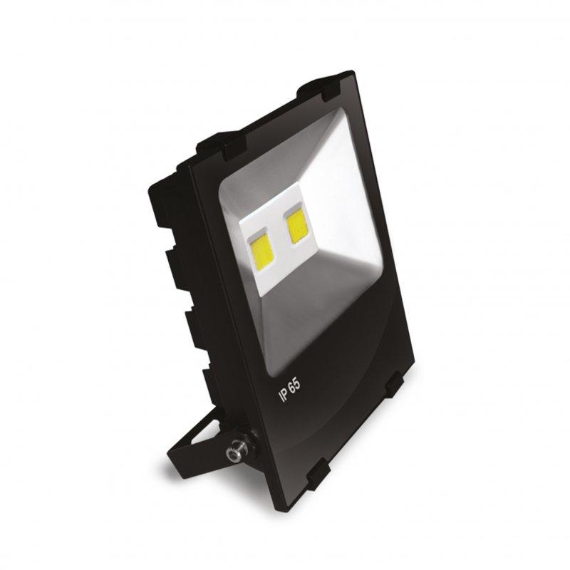 Светодиодный Euroelectric LED COB Прожектор с радиатором 100W 6500K modern