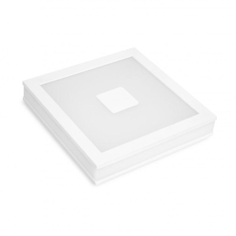 Светодиодный Eurolamp LED Светильник квадратный врезной Downlight New 24W 4000K