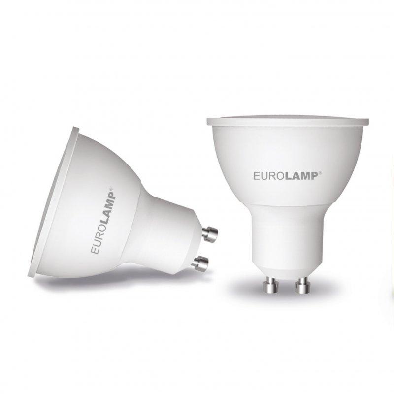 Точечная светодиодная Eurolamp LED Лампа Еко MR16 5W GU10 3000K