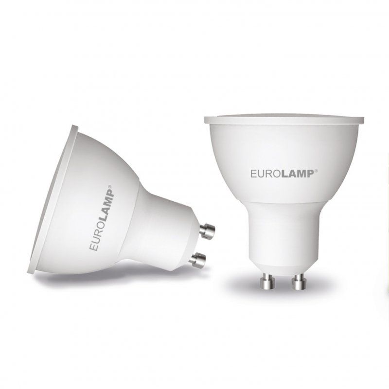 Точечная светодиодная Eurolamp LED Лампа Еко MR16 5W GU10 4000K