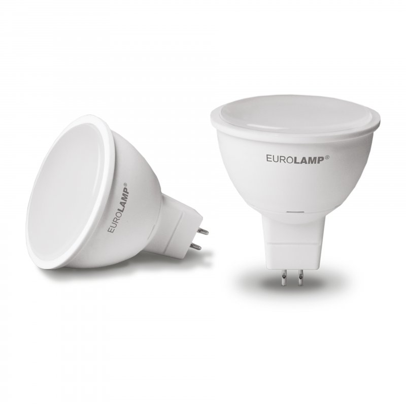 Точечная светодиодная Eurolamp LED Лампа Еко MR16 7W GU5.3 4000K
