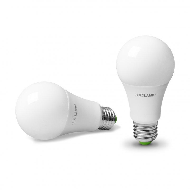Промо-набор Eurolamp LED A60 8W E27 3000K
