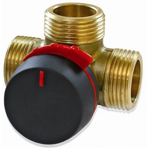 3-ходовой поворотный переключающий клапан AFRISO VRG 231; Rp 3/4; 20 DN; 6.3 Kvs 11620100