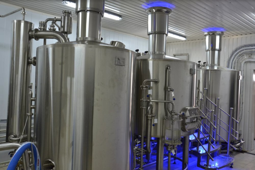 Brewery of 500 l