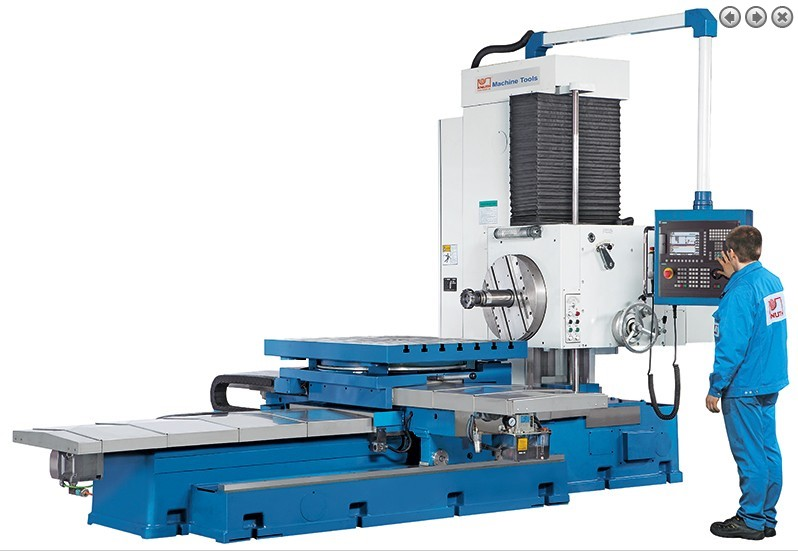 Купить Горизонтально-расточной станок с ЧПУ - BO 110 CNC с ЧПУ