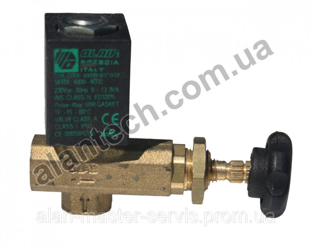 Купить Газовый кран с электрическим вентилем к тепловым пушкам Master BLP 30E, BLP 30M 4160.660