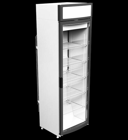 Холодильный шкаф Torino-405 с радиусной дверью