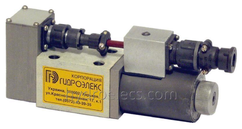 Распределитель гидравлический с электромагнитным управлением типа МРЕ6 – 574.В5