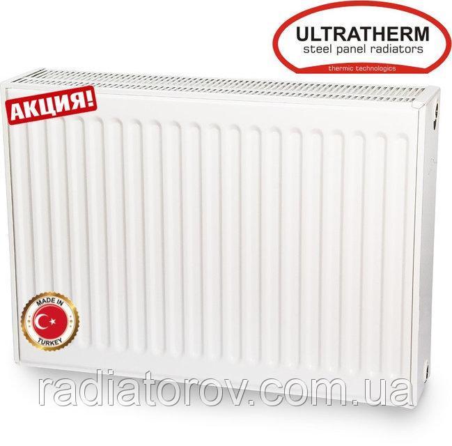 Стальные радиаторы Ultratherm 22 тип 500/900 нижнее/боковое подключение, Турция