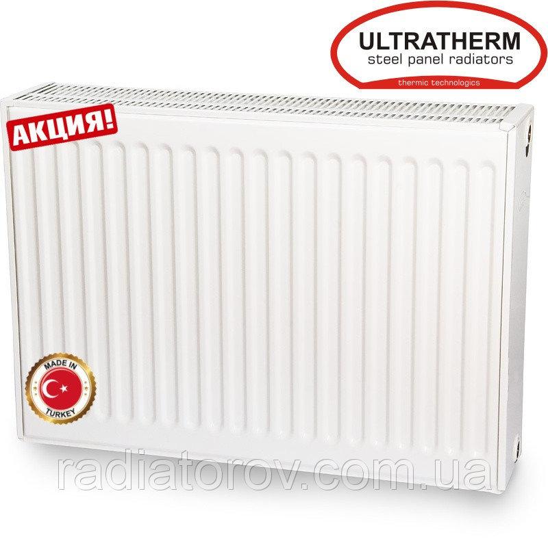 Стальные радиаторы Ultratherm 22 тип 600/1800 боковое подключение (Турция)