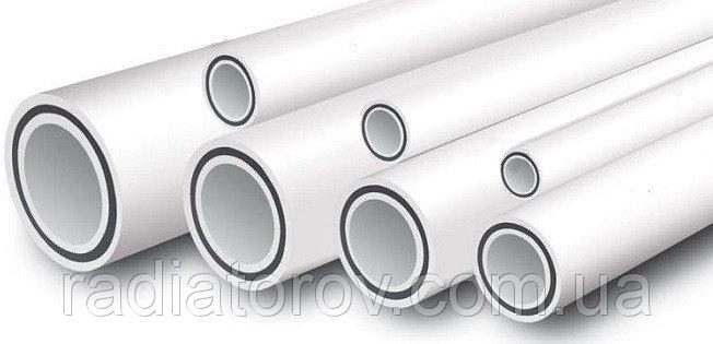 Трубы полипропиленовые ø25 для отопления, армированная стекловолокном