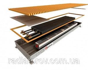 Внутрипольные конвекторы Polvax KV.300.1250.90/120 с вентилятором