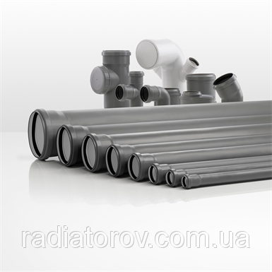 Трубы для канализации Ø 75х750мм ППР Valsir (Италия)