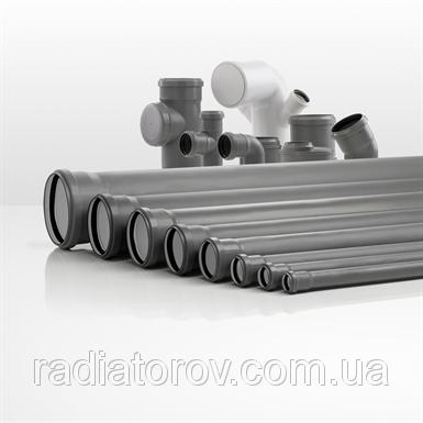 Трубы для канализации Ø 110х750мм ППР Valsir (Италия)
