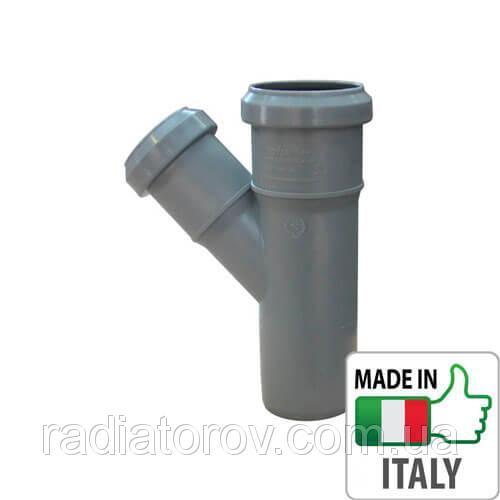Тройник PPR Ø 32х45° для внутренней канализации Valsir Италия