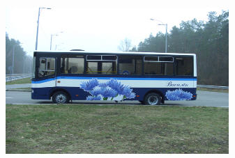 Автобусы городские А081.10 городской, Черниговский автозавод, Украина