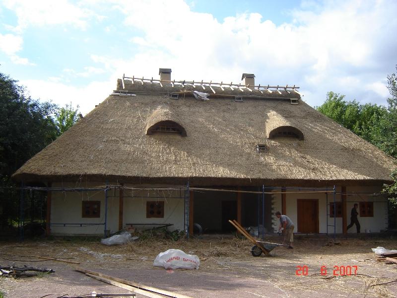 Крыша из камыша-забытые традиции
