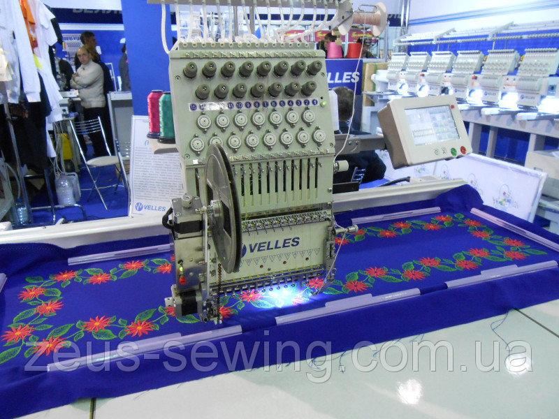 1-головочная 15-игольная Автоматическая вышивальная машина Velles VE 19C-TS