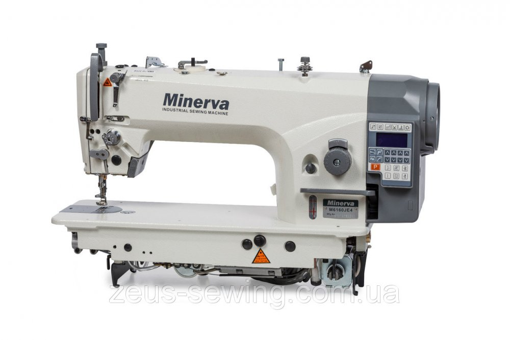 Купить Одноигольная промышленная машина с игольным продвижением, встроенным приводом и автоматикой Minerva M6160 JE4