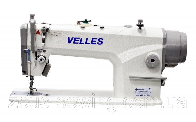 1-но игольная машина челночного стежка с прямым сервоприводом и автоматическими функциями VELLES VLS1811D1