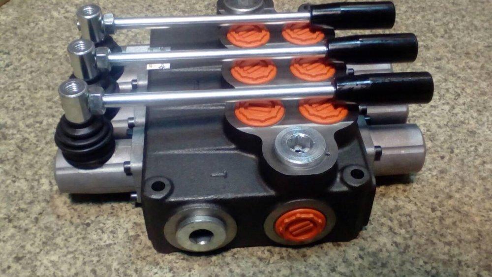 Купить Гидравлический гидрораспределитель 3 секции 120 л/мин/3Р120