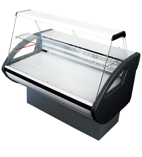 Холодильная витрина Россинка с плоским стеклом
