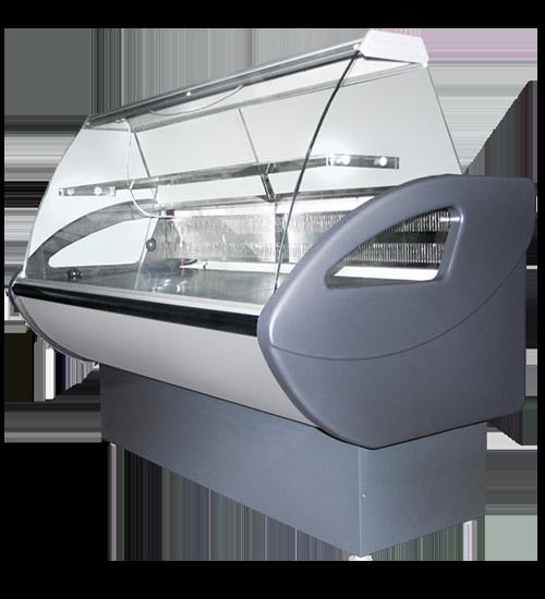 Холодильная витрина Rimini ВС с гнутым фронтальным стеклом
