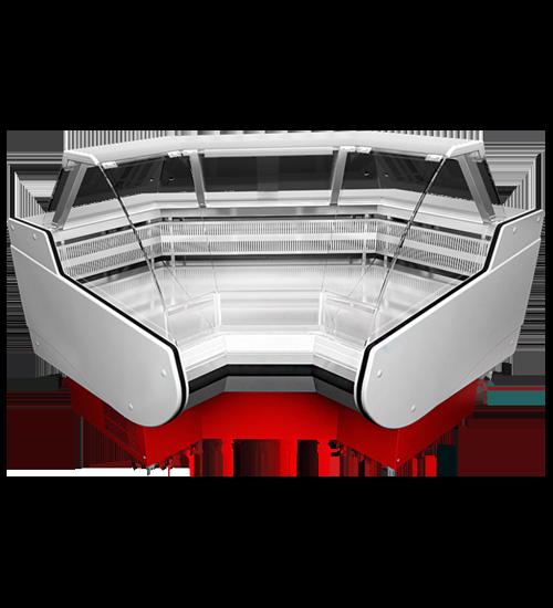 Холодильная витрина Belluno-УВ (угловой элемент)