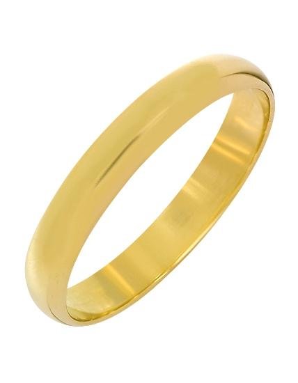 Купить Золотое обручальное кольцо 585 пробы, артикул 15-000095196