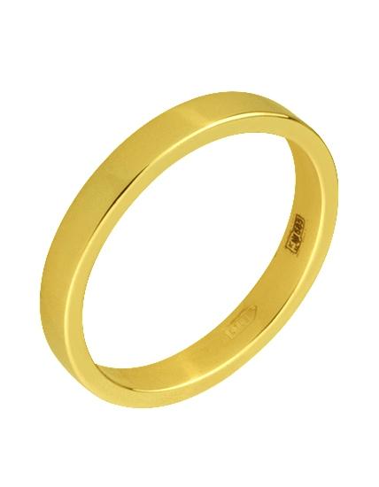 Купить Золотое обручальное кольцо 585 пробы, артикул 15-000095234