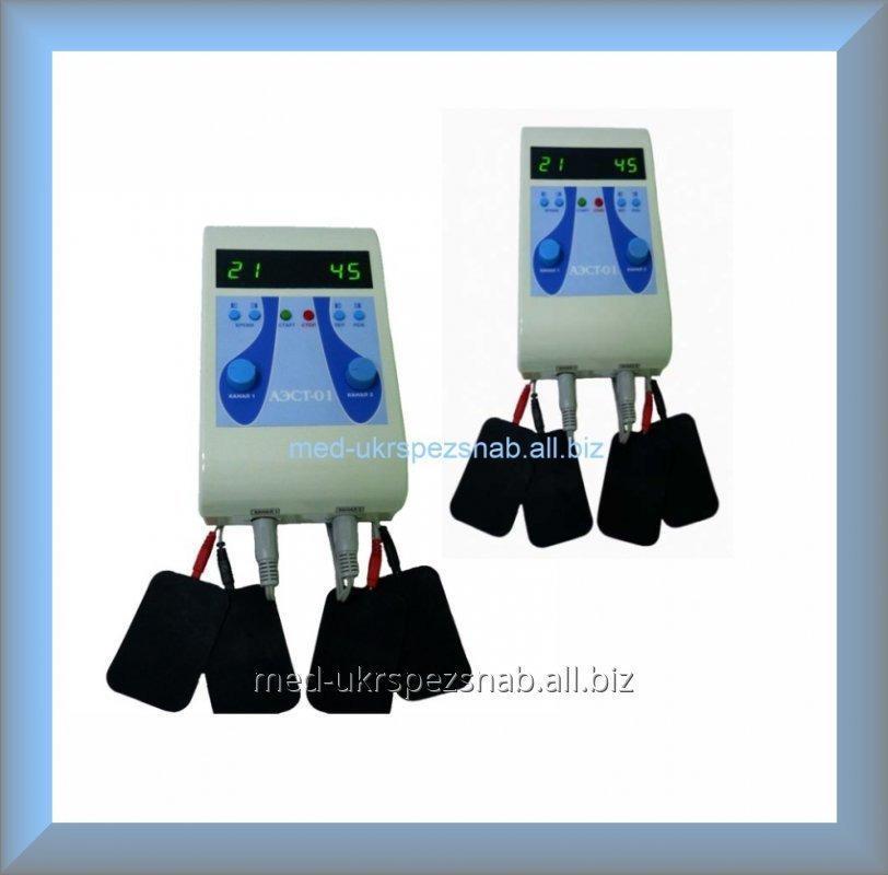 Купить Аппарат для миостимуляции АЭСТ-01 (двухканальный)