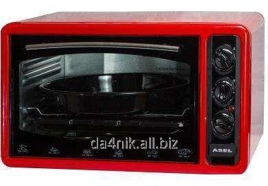 Купить Электрическая духовка Асель FCATT-23 AF-0023 33л. с таймером красный