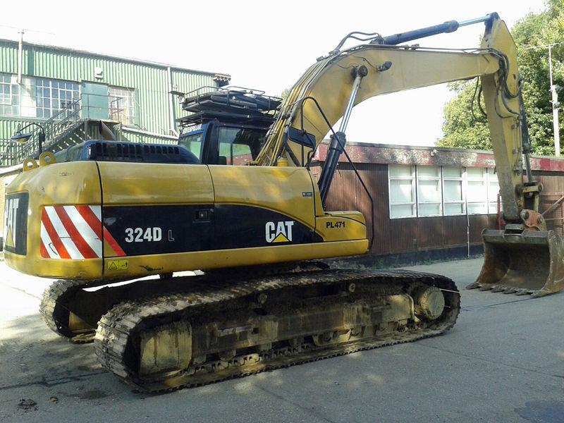 Гусеничный Экскаватор CAT 324D.