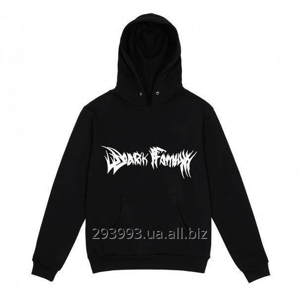 Hoodie (make look slender, a jacket, a sweatshirt) Dark Family