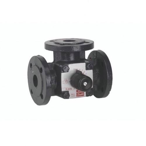 HFE Поворотный регулирующие 3-х ходовой клапан HFE, внутренняя резьба, PN 6 бар , 100 Ду мм, DN100  065Z0435