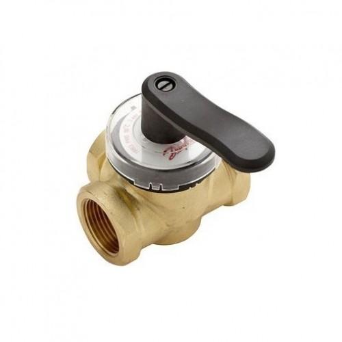 HRB3 Поворотный регулирующие 3-х ходовой клапан HRB3, внутренняя резьба, PN 10 бар , 50 Ду мм, Rp 2 065Z0410
