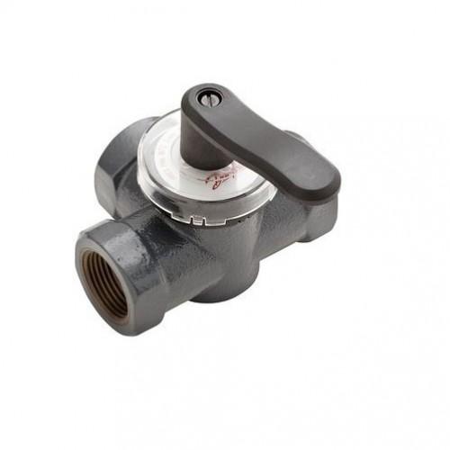 HRE3 Поворотный регулирующие 3-х ходовой клапан HRE3, внутренняя резьба, PN 6 бар , 20 Ду мм, Rp 3/4 065Z0418
