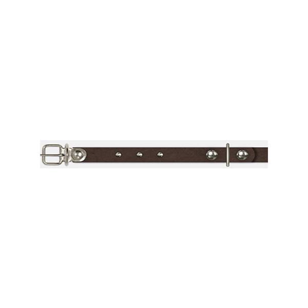 Ошейник из 2 частей с украшениями 1,2х23-29 см, коричневый Арт, 1323-35