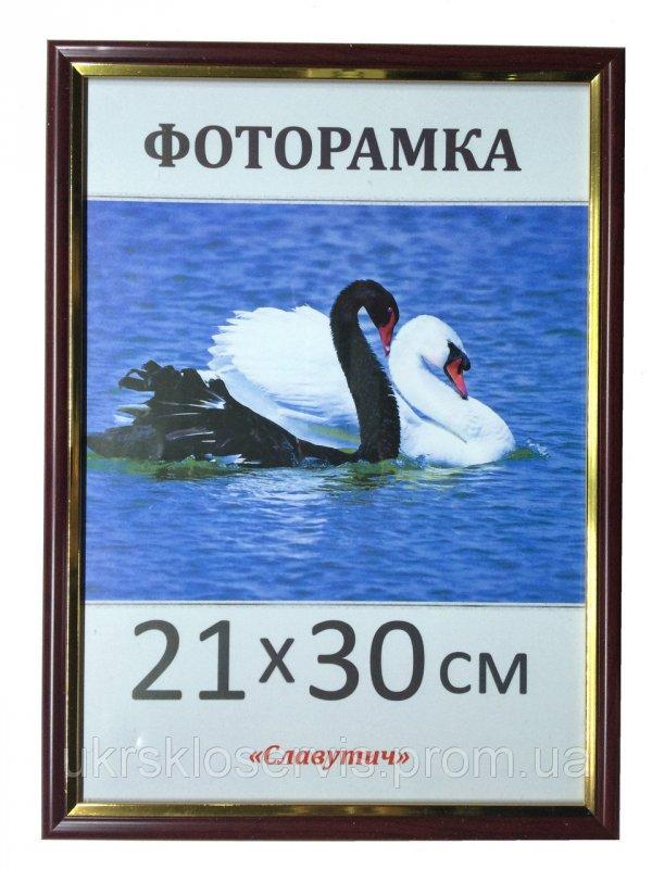 Купить Фоторамка пластиковая 21х30, А4, 1512-124