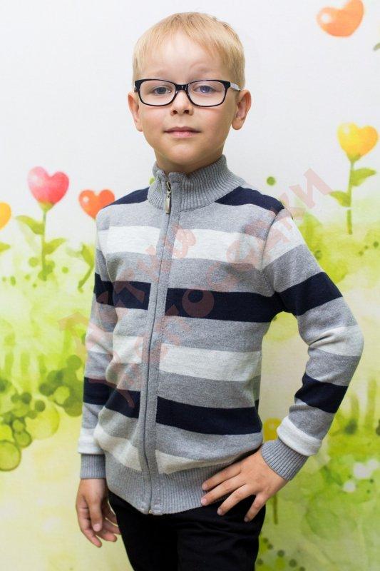 29b4ea5d864 Кофта школьная для мальчика на молнии Ada Yildiz