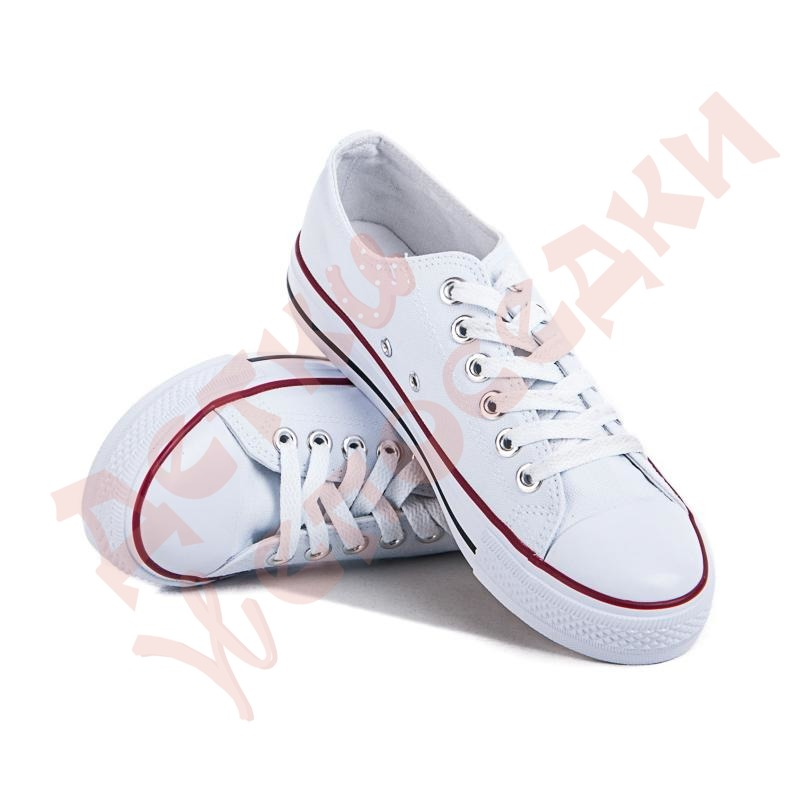 Buy Gym shoes for the girl on Violeta laces, white, 38, 36-41, 38